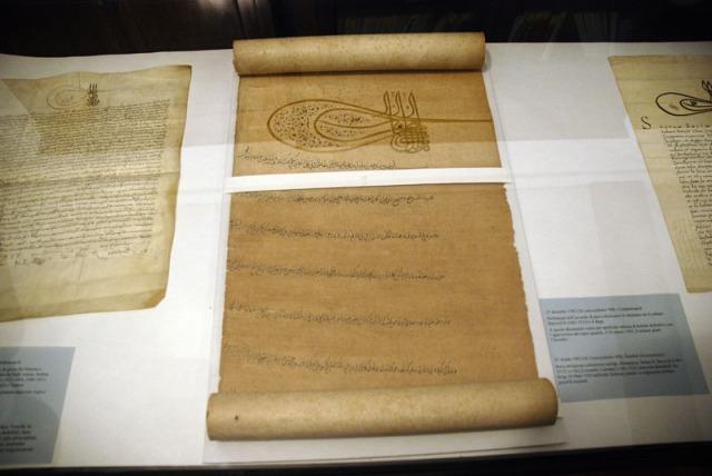 Le carte del Sultano nell'Archivio di Stato di Venezia