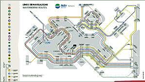 mappa battelli venezia