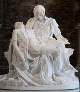 Jean Fabre la Pietà di Michelangelo a Venezia