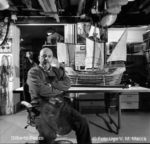 Gilberto Penzo e le imbarcazioni di Venezia