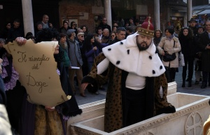 Manifestazione di protesta a Venezia