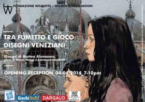 Tra fumetto e gioco: Disegni Veneziani