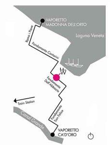Mappa Fondazione Wilmotte