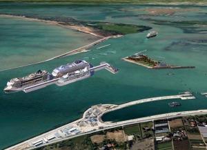 Progetto avamporto galleggiante a Venezia