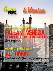 Lemon Pops in concerto a Venezia