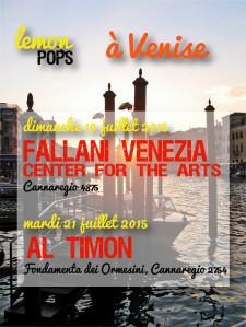 Lemon Pops in concerto a Venezia