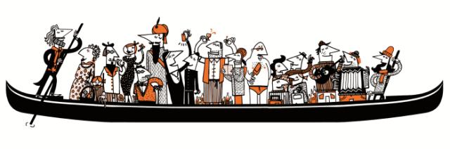 Progetto di restauro di una barchetta da parada veneziana