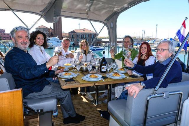 Crociere gourmet a Venezia