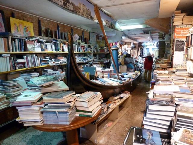 Libreria a Venezia