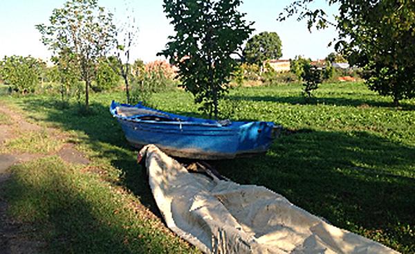 Restauro barca tradizionale veneziana