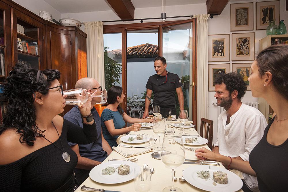 Cena privata a Venezia