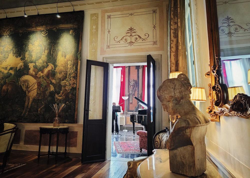 Salotto musicale a Venezia